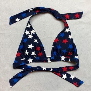 Catalina Navy Blue Star Spangled Bikini Top